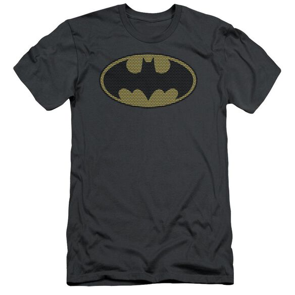 Batman Little Logos Short Sleeve Adult T-Shirt