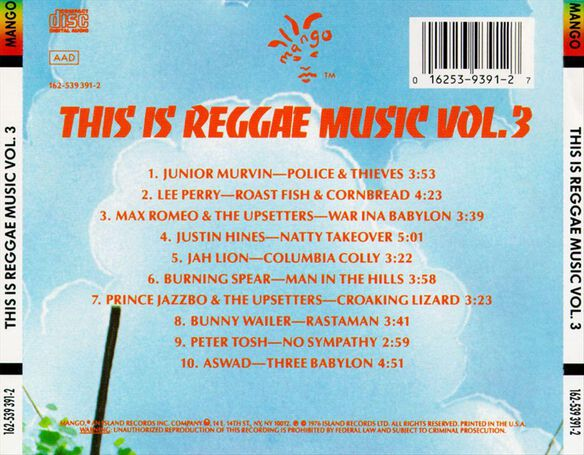 Reggae Music V3 1193