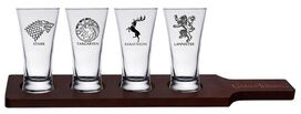 Game of Thrones Flight Glasses [4 Pack]