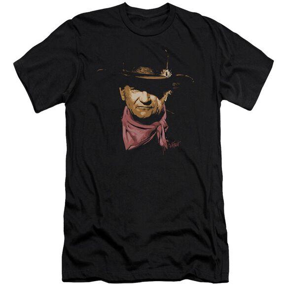 John Wayne Splatter Short Sleeve Adult T-Shirt