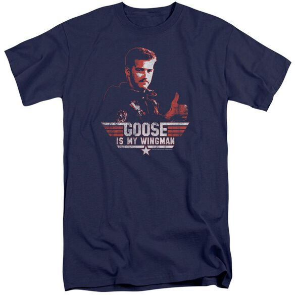 Top Gun Wingman Goose Short Sleeve Adult Tall T-Shirt