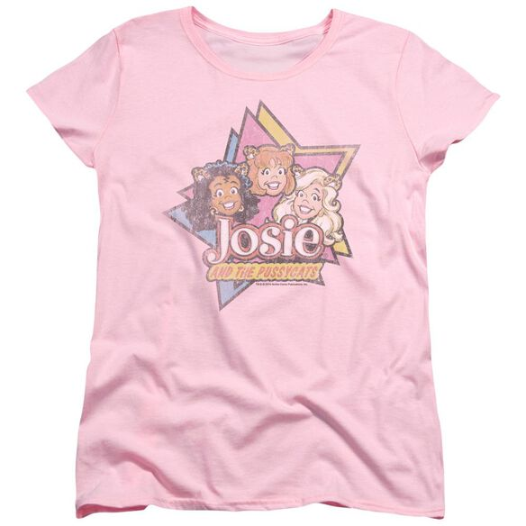 Archie Comics Stars Short Sleeve Womens Tee Pink T-Shirt