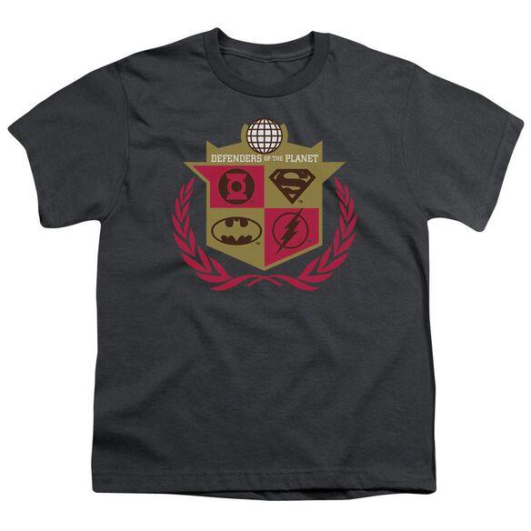 Jla Defenders Short Sleeve Youth T-Shirt