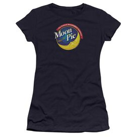 Moon Pie Current Logo Premium Bella Junior Sheer Jersey