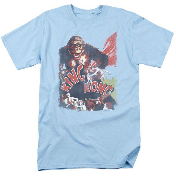 King Kong You Better Run Short Sleeve Adult Light T-Shirt