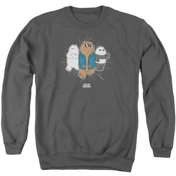 We Bare Bears Jacket Adult Crewneck Sweatshirt