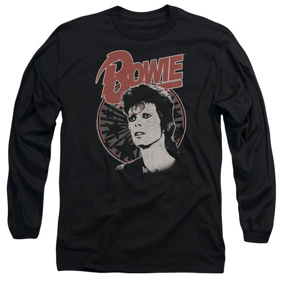 David Bowie Space Oddity Long Sleeve Adult T-Shirt