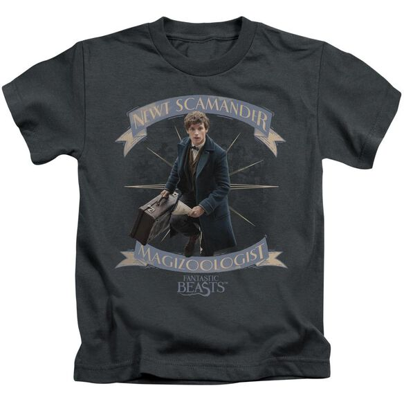 Fantastic Beasts Newt Scamander Short Sleeve Juvenile T-Shirt