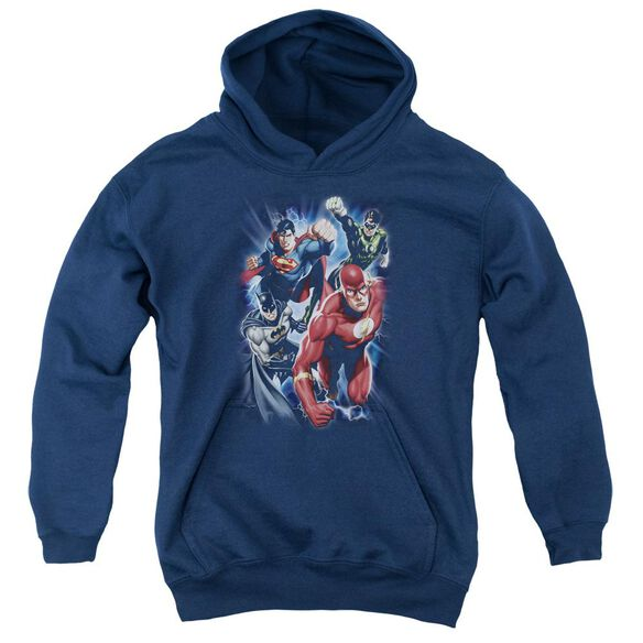 Jla Storm Chasers Youth Pull Over Hoodie