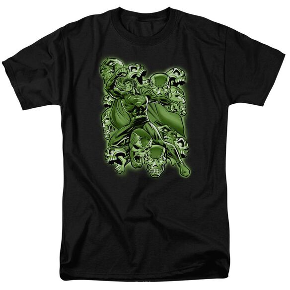 Superman Metallo Mayhem Short Sleeve Adult T-Shirt