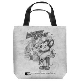 Cbs Tv Mighty Mouse Sketch Tote