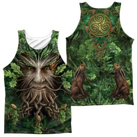 Anne Stokes Oak King (Front Back Print) Adult 100% Poly Tank Top