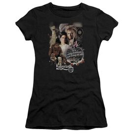 Labyrinth 25 Years Of Magic Short Sleeve Junior Sheer T-Shirt