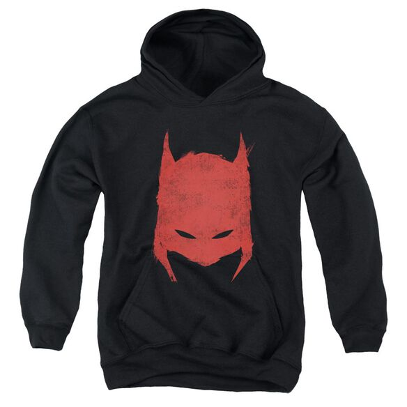 Batman Hacked & Scratched Youth Pull Over Hoodie