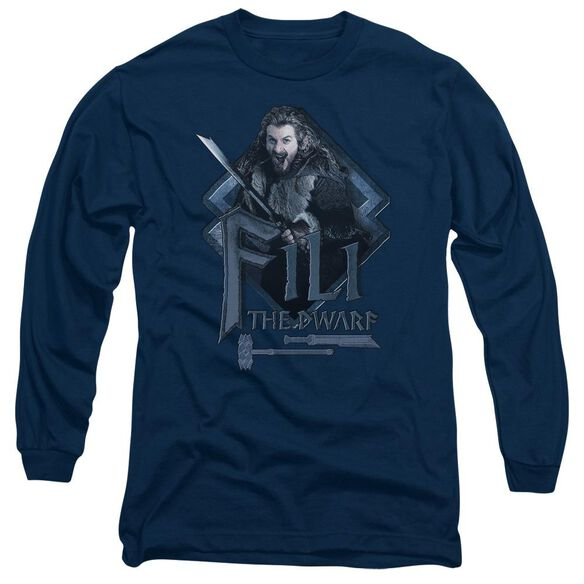 The Hobbit Fili Long Sleeve Adult T-Shirt