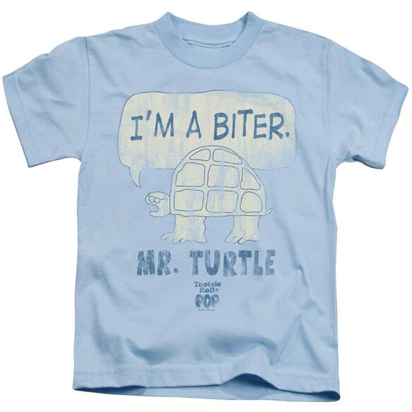 Tootsie Roll I'm A Biter Short Sleeve Juvenile Light Blue T-Shirt