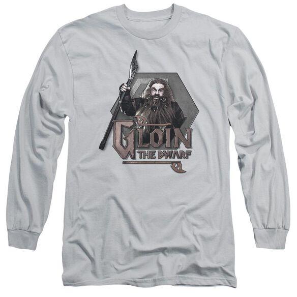 The Hobbit Gloin Long Sleeve Adult T-Shirt