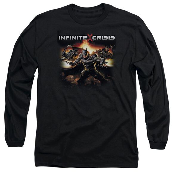 Infinite Crisis Batmen Long Sleeve Adult T-Shirt