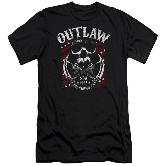 Sons Of Anarchy Outlaw Premuim Canvas Adult Slim Fit