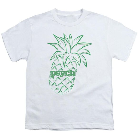 Psych Pineapple Short Sleeve Youth T-Shirt