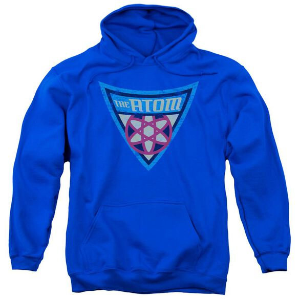 Batman Bb The Atom Shield Adult Pull Over Hoodie Royal