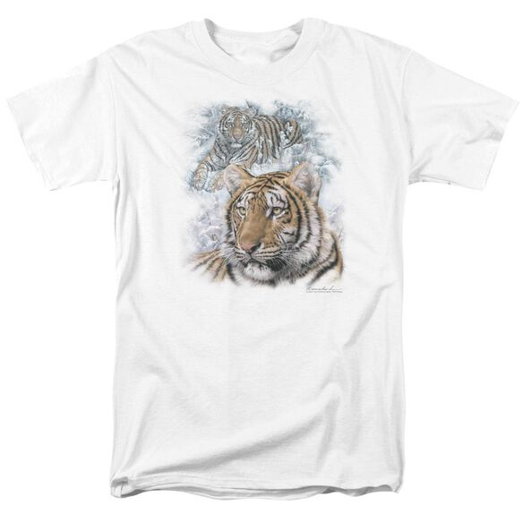 Wildlife Tigers Short Sleeve Adult T-Shirt