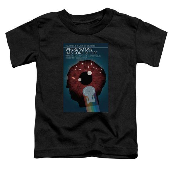 Star Trek Tng Season 1 Episode 6 Short Sleeve Toddler Tee Black Sm T-Shirt