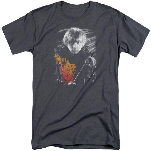 Harry Potter Ron Portrait Short Sleeve Adult Tall T-Shirt