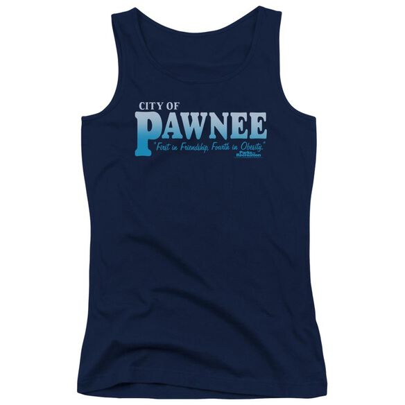 Parks And Rec Pawnee Juniors Tank Top