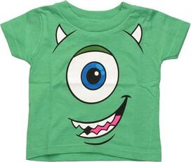 Monsters Inc Mike Face Glow Infant T-Shirt