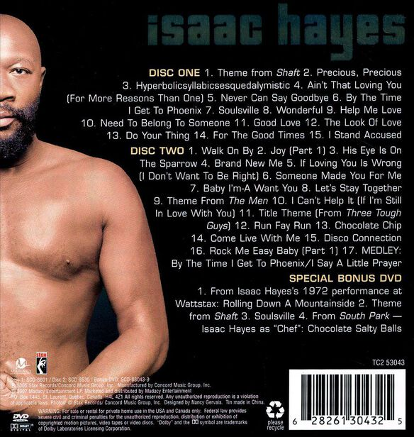 Best Of Isaac Hayes 3 Cd T