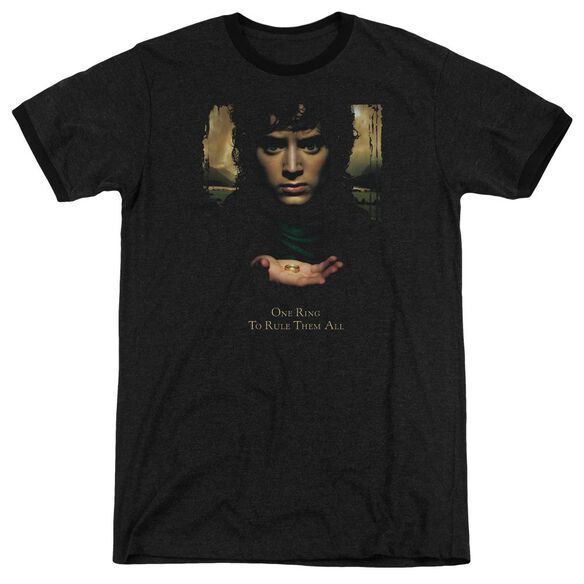Lor Frodo One Ring Adult Heather Ringer