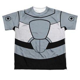 Teen Titans Go Cyborg Suit Dye Sub Youth T-Shirt