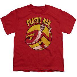 Dc Plastic Man Short Sleeve Youth T-Shirt
