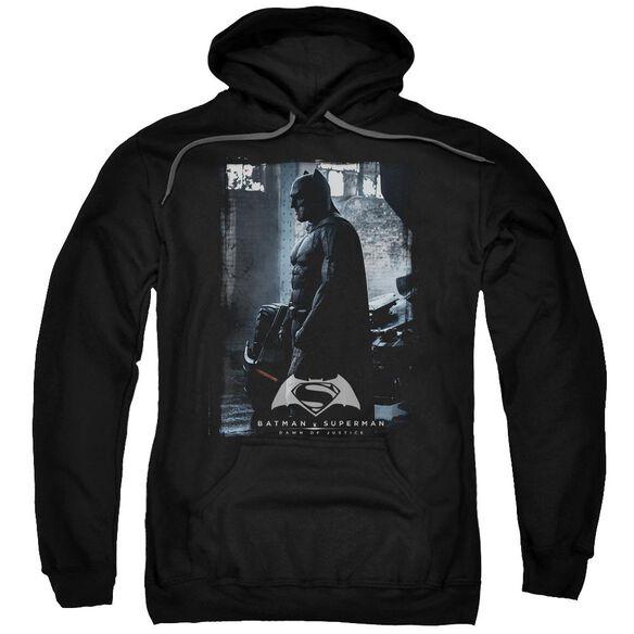Batman V Superman Bat Poster Adult Pull Over Hoodie