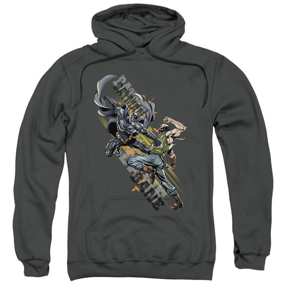 Dark Knight Rises Attack Adult Pull Over Hoodie