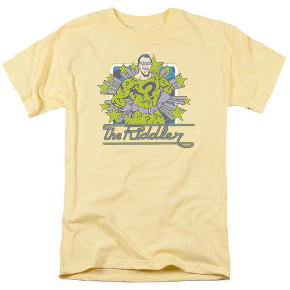 Dc Riddler Stars Short Sleeve Adult T-Shirt