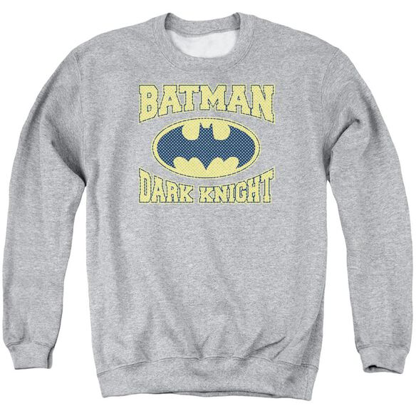 Batman Dark Knight Jersey Adult Crewneck Sweatshirt Athletic