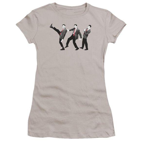 Mr Bean Walk Like A Bean Premium Bella Junior Sheer Jersey