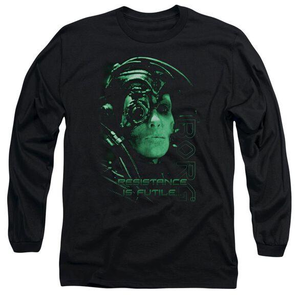 Star Trek Resistance Is Futile Long Sleeve Adult T-Shirt