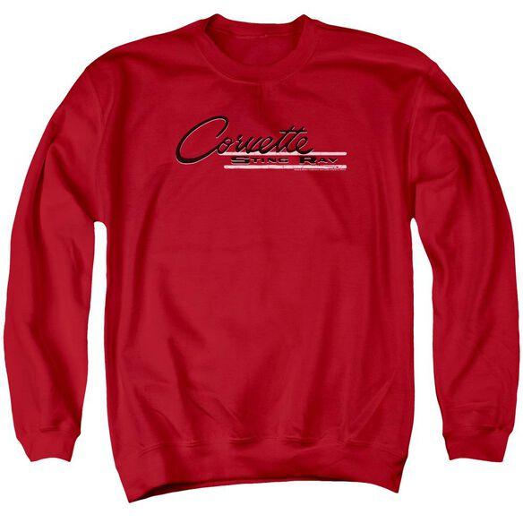 Chevrolet Retro Stingray Adult Crewneck Sweatshirt