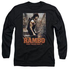 Rambo:First Blood Ii The Hunt Long Sleeve Adult T-Shirt