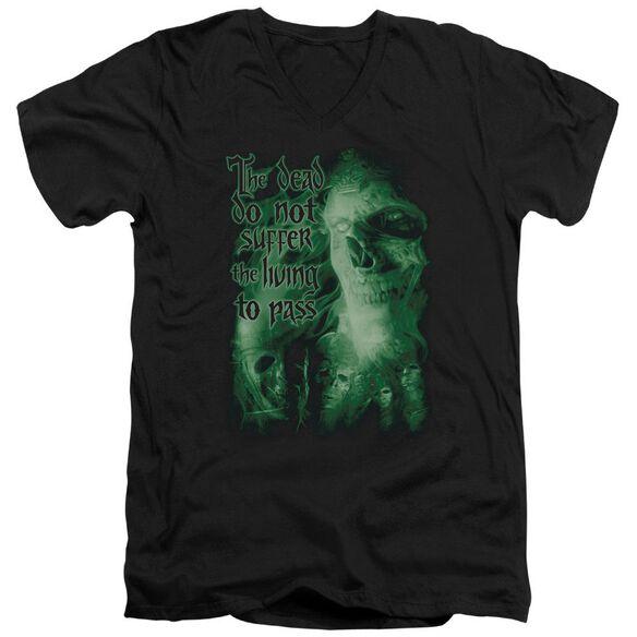 Lor King Of The Dead Short Sleeve Adult V Neck T-Shirt