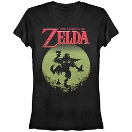 Zelda Majoras Mask Moon Pose Juniors T-Shirt