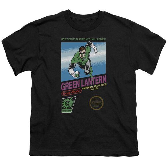 Green Lantern Box Art Short Sleeve Youth T-Shirt