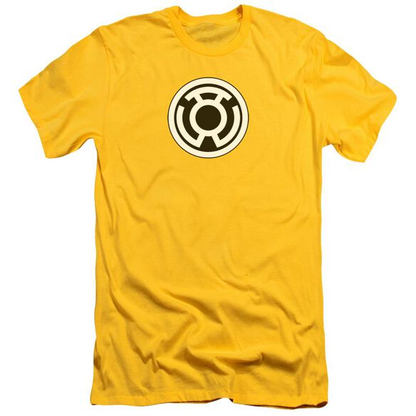 Green Lantern Sinestro Corps Logo Short Sleeve Adult T-Shirt