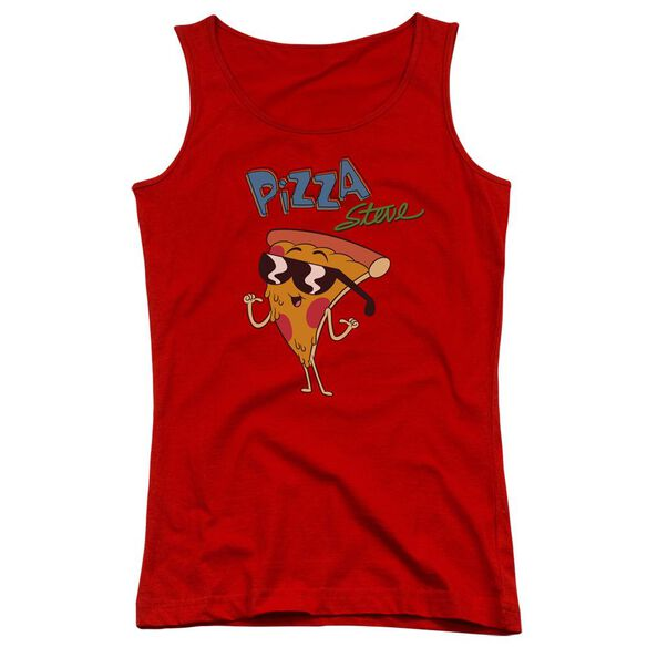 Uncle Grandpa Pizza Steve Juniors Tank Top