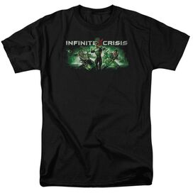 Infinite Crisis Ic Green Short Sleeve Adult T-Shirt