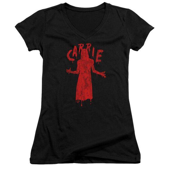 Carrie Silhouette Junior V Neck T-Shirt