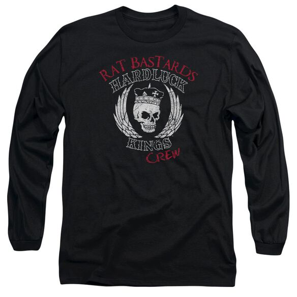 Hardluck Kings Rat Bastards Logo Long Sleeve Adult T-Shirt